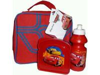 Red cars lunch box