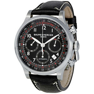Baume and Mercier Capeland Chronograph Mens Watch MOA10001