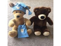 Bear Factory puppy and bear