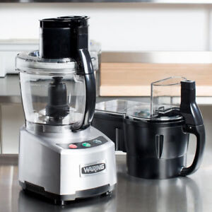 Brand NEW! Waring WFP16SCDC Continuous Feed Food Processor 4 QT