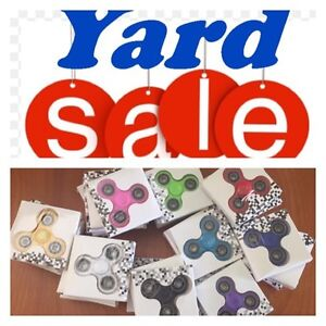 Yard sale - fidget spinners and more!!