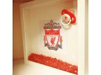 Liverpool & Everton New Baby Congratulations Gift LFC EFC