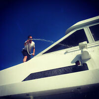 Professional yacht detailing , boat maintenance and management
