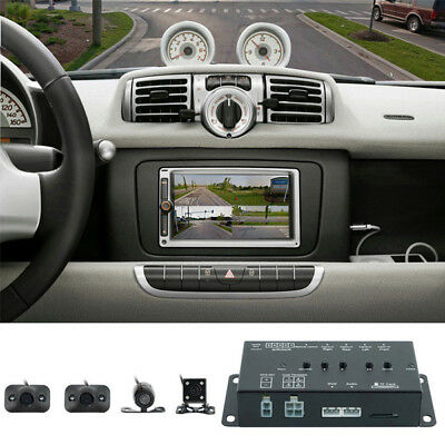 360° Full Parking w/Front/Rear/Right/Left 4 Camera DVR Video Monitoring Reliable