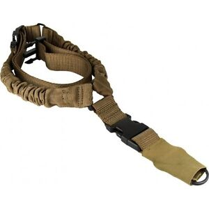 Single-Point-Bungee-Sling-for-Rifle-Shotgun-Tan-Desert-Coyote-1-Point