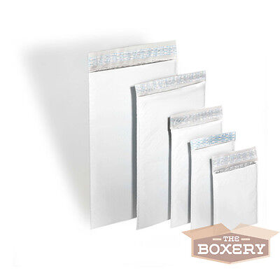 200 Poly 1 Size 7.25x12 Bubble Mailers Padded Envelopes - Airjacket Brand