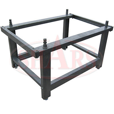 Shars 64 X 32 Steel Stand For 48 X 96 Granite Surface Plate New