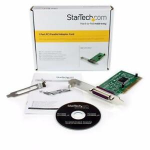 StartTech 1 Port PCI Parallel Adapter Card