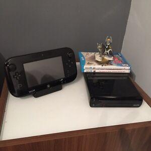 WII U DELUXE - Brand New, No Scratches with Zelda Games