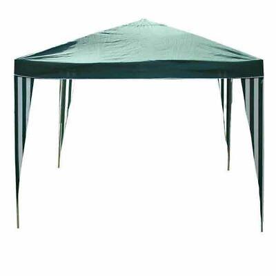 Kingfisher 2.4m Gazebo Party Tent PE Garden Canopy Marquee Waterproof Outdoor
