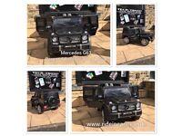 MERCEDES G63 AMG(Electric), G-Wagon, Black, Self Drive & Parental Remote Ride-On