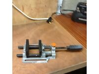 Vice for pillar drill etc