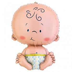 Cute Baby Foil Helium Balloon Welcome New Baby Shower Christening Decoration 22