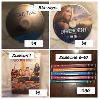 Blu-Rays + TV seasons