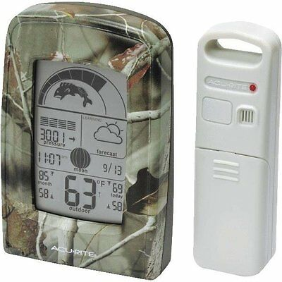 SPORTSMAN FORECASTER WEATHER STATION - KNOW WHEN TO HUNT & FISH!