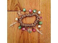 Bracelet + Sterling Silver Heart Necklace (Argos)