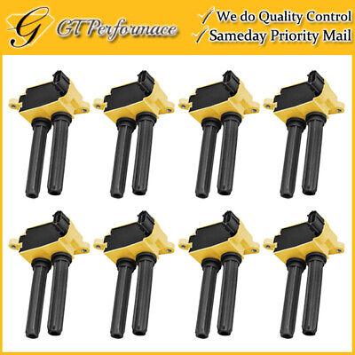 Performance Ignition Coil 8PCS for Chrysler/ Dodge/ Jeep/ Ram 5.7L 6.1L 6.4L V8