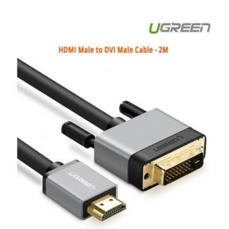 Ugreen HDMI Male to DVI Male Cable - 2M ACBUGN20887