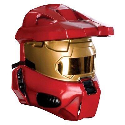 d Halo 3 Rot Spartaner 1/2 Kostüm Vacuform Maske (Halo 3 Kostüm)