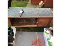 Rabbit hutch and accessories