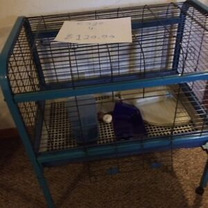Rabbit or guinea pig or small animals cages