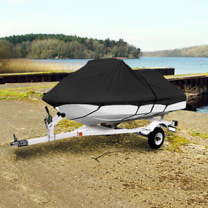 "Trailerable Personal Watercraft Cover 116""-126"" Black Storage Co"