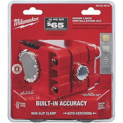 Milwaukee High-quality Performance Bi-metal Door Lock Installation Kit
