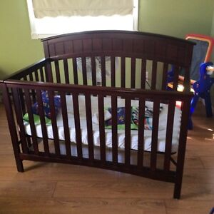 Baby crib , mattress and covers included