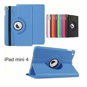 360 rotation/smart  PU leather case for ipad mini