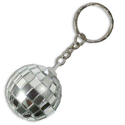 Discokugel Schlüsselanhänger für Kinder, Spiegelkugel d=4cm