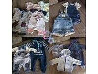 Baby boys bundle 0-3 months 42 items!!!