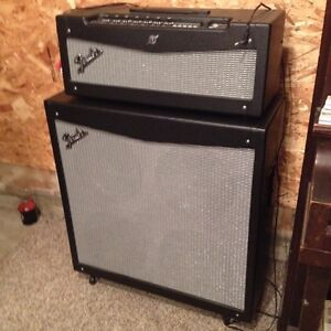 Fender Mustang V5 head and cab