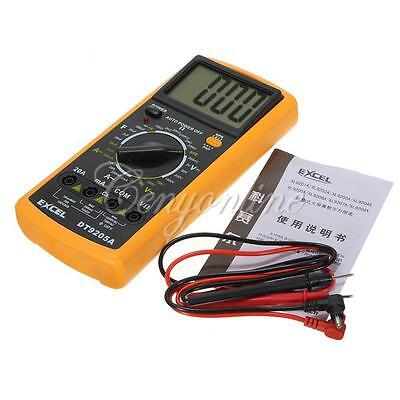 BEST DT9205A  3 1/2 LCD AC DC Volt Amp Ohm Meter Electrical Digital Multimeter on Rummage