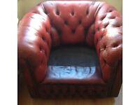 Chesterfield Leather Club Armchair