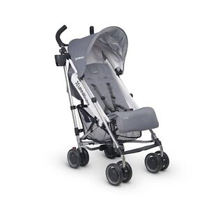 Pousette Uppababy G-Lux gris. Pousette