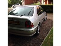 Rover 45 petrol very low miles.