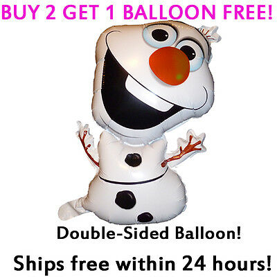 HUGE **OLAF** Frozen Movie 2-Sided Mylar Jumbo Balloon Birthday Party Supplies