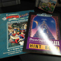 Strategy Guide Popful Mail, Phantasy Star III Hint Book