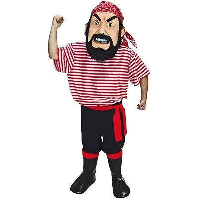 Professional Pirate Costumes (Pirate Professional Quality Mascot Costume Adult)