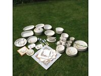 67 pieces of Marks and Spencer Harvest range ALL IN PERFECT CONDITION Dinner plates and crockery