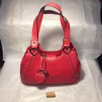 Red handbag by Aurielle will steal your heart!