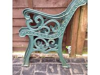 Bench seat ends