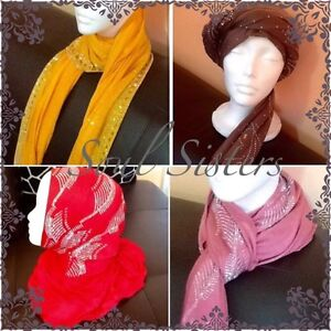 Scarfs/hijabs new in package.