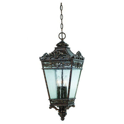 Savoy House Maguire 3 Light Outdoor Hanging Lantern Energy Saving Outdoor Pendant