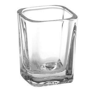 Square Shot Glass  / Candle Container