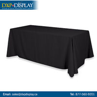 High Quality Trade Show Table Covers & Runners from dxpdisplay.c