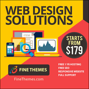 ★★ RESPONSIVE WEB DESIGN ★★ SALE! From $179 - Free Hosting + SEO