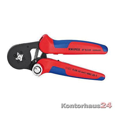 Knipex: Aderendhülsenzange 0,08-16 qmm 4kt. +++NEU+++