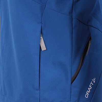 Craft Herren Gate Softshell Jacke Outdoor Funktionsjacke mit Kapuze