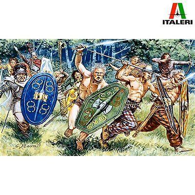 Italeri 6022 Gauls Warriors 1st Century BC 1/72 scale plastic model kit